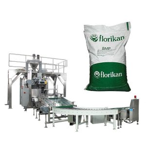 Macchina confezionatrice automatica per latte in polvere in sacchi da 10 kg 25kg