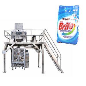Macchina per il confezionamento di detersivi in polvere per detersivi in polvere a 4 teste lineari