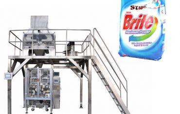 Macchina imballatrice detergente per detersivo in polvere a 4 teste lineari