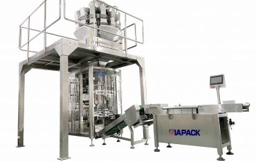 Automatic frozen food packaging machine