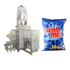 Bagger a bocca aperta di detersivo in polvere della macchina imballatrice del sacco automatico di Premade
