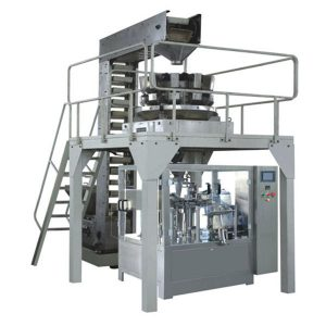 Pesatura automatica dei granuli Premade Riempimento e sigillatura della linea di produzione