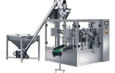 impacchettatrice automatica per riempimento polveri rotanti