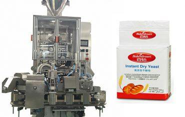 confezionatrice automatica sottovuoto in polvere di lievito