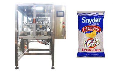 macchina per imballaggio di granuli alimentari snack continuo verticale