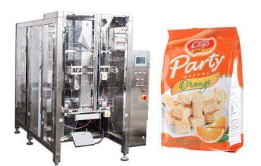 macchina imballatrice automatica piena del sacchetto della guarnizione della guarnizione del quad