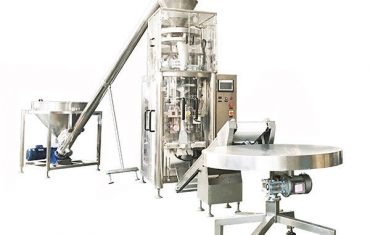 macchina di riempimento di granuli a forma verticale con coppa volumetrica