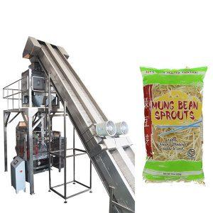 macchina per il confezionamento di germogli di fagioli completamente automatica
